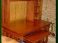 Computer Desk - Mission Style Quartersawn Oak