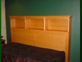 King Bed Natural Cherry Headboard
