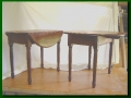 Early American Walnut Coffee Table and Matching End Tables