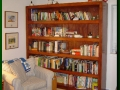 Stained Ash Shelving