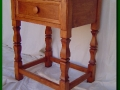 Stained Alder End Table
