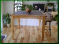Southwestern Bar-Height Hickory and Slate Table