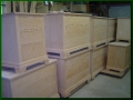 Alder Three-Drawer Dressers and Nightstands - Unfinished